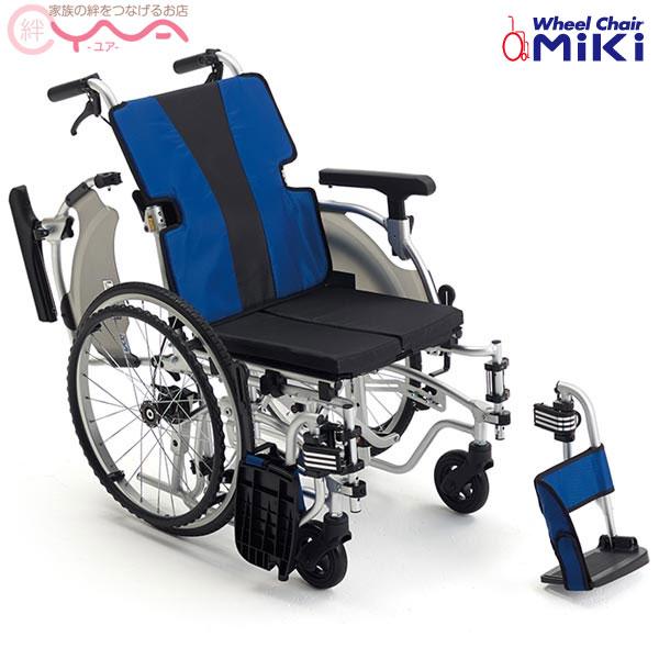車椅子 車いす 車イス MiKi ミキ MEFシリーズ MEF-20 工具1本で調節可能なモジュールタイプ 自走 介護用品 送料無料