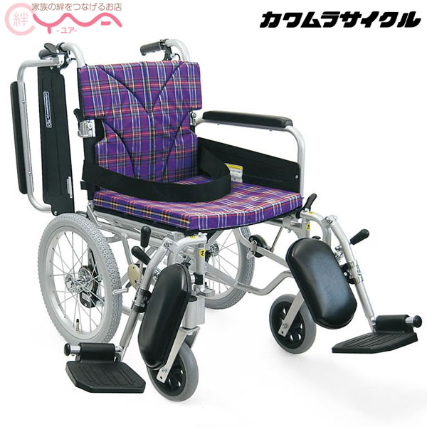 車椅子 車いす 車イス カワムラサイクル KA816-40(38・42)B 介護用品 送料無料