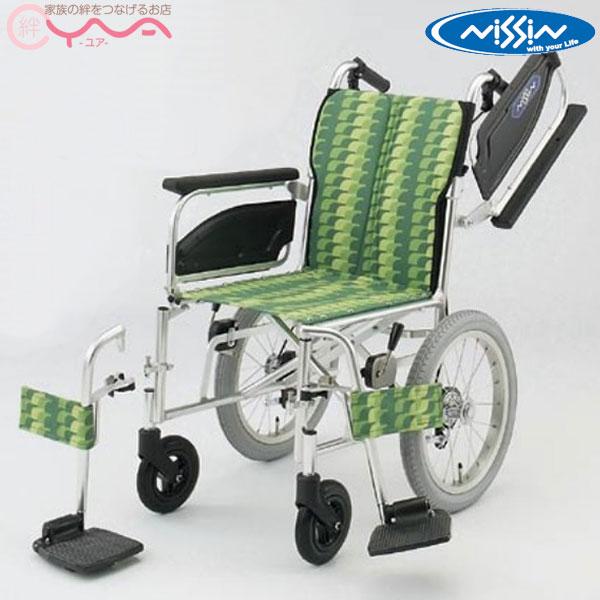 車椅子【日進医療器】NAH-400シリーズ NAHseries NAH-446W [介助式車椅子]