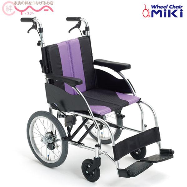 車椅子 軽量 折り畳み MiKi ミキ UR-2 車いす 車イス 介護用品 送料無料