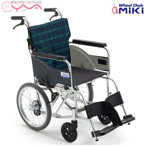 車椅子 軽量 折り畳み MiKi ミキ BAL-8 SP 車いす 車イス 介護用品 送料無料