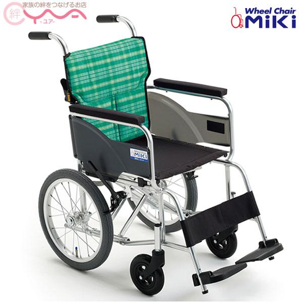 車椅子 軽量 折り畳み MiKi ミキ BAL-8 車いす 車イス 介護用品 おしゃれ 送料無料