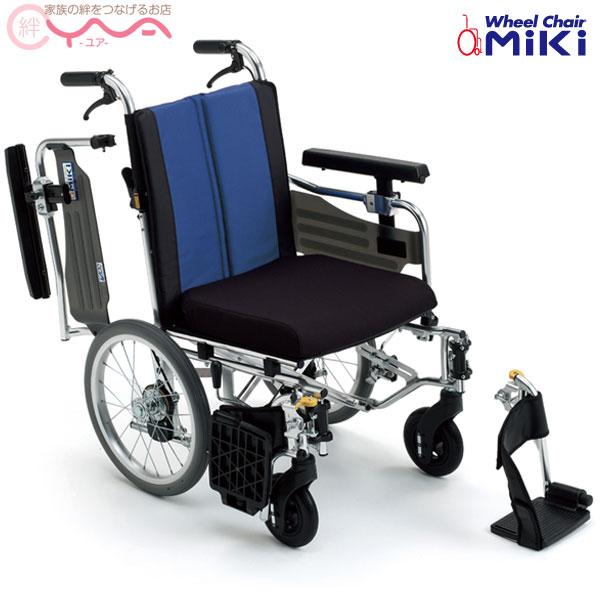 車椅子 車いす 車イス MiKi ミキ BAL-10 介護用品 送料無料