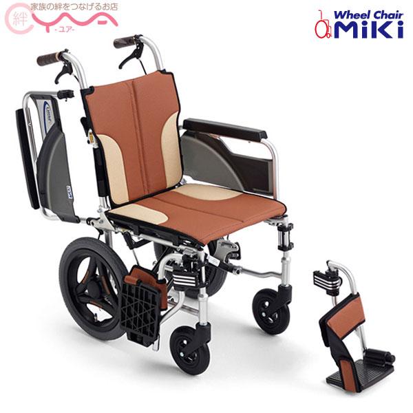 車椅子 軽量 折り畳み MiKi ミキ Skit(スキット) SKT-200 車いす 車イス 介護用品 送料無料