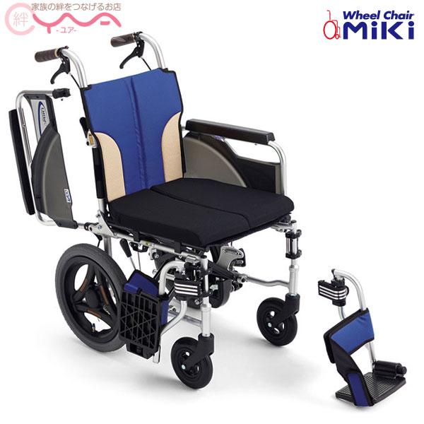 車椅子 折り畳み 【MiKi/ミキ】 SKT-200B 介助式 自動ブレーキ 車いす 車イス くるまいす コンパクト 介護用品 送料無料