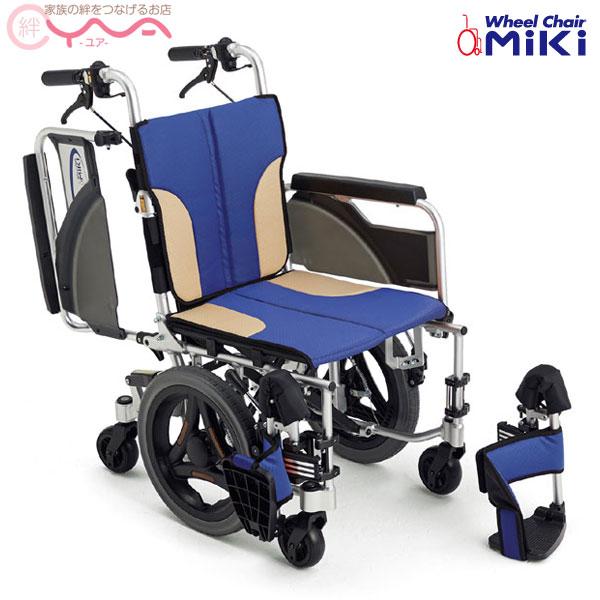 車椅子 折り畳み 【MiKi/ミキ SKT-600】 介助式 低座面 車いす 車イス くるまいす コンパクト 介護用品 送料無料
