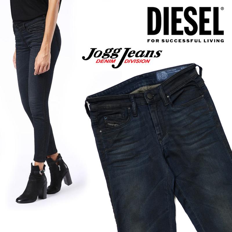 ディーゼル/DIESEL   レディース DORIS-NE 0848J Jogg Jeans ジョグジーンズ スウェットデニム ストレッチ リラックス パンツ ボトムス 楽 履きやすい スーパースリムスキニー