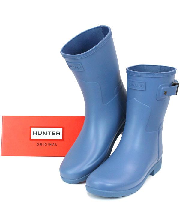 HUNTER/ハンター 【レディース】オリジナル リファインド ショートブーツ Women's Refined Slim Fit Short Wellington Boots OCT/オクターヴ レインブーツ 長靴 防水 WFS1098RMA