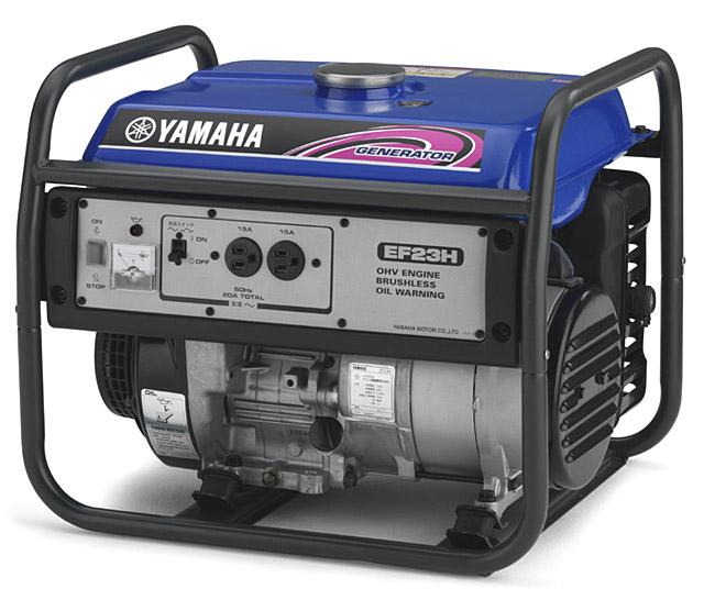 【送料無料】YAMAHA ヤマハ 発電機 EF23H 50Hz 標準タイプ発電機