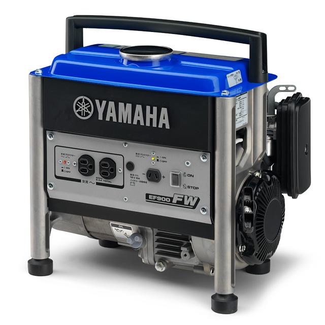 停電対策 計画停電 レジャーから業務 予約 バックアップ電源まで様々な用途に対応 災害対策 送料無料 ポータブル発電機 YAMAHA ヤマハ EF900FW 50Hz 新登場