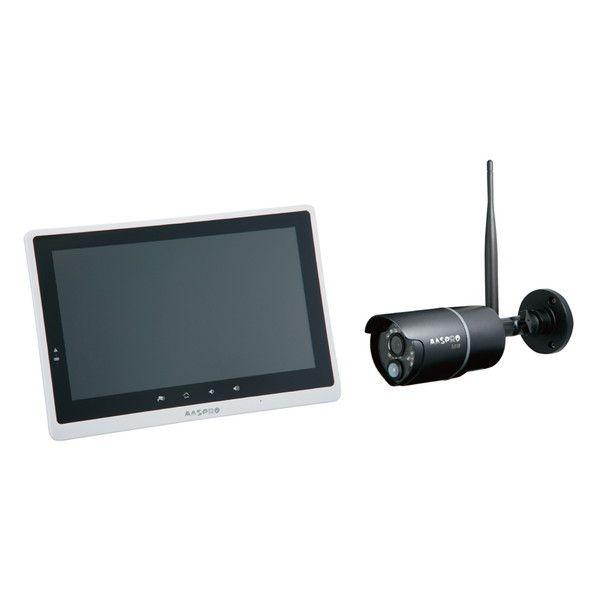 MASPRO マスプロ WHC10M3 モニター&ワイヤレスHDカメラセット10.1インチ