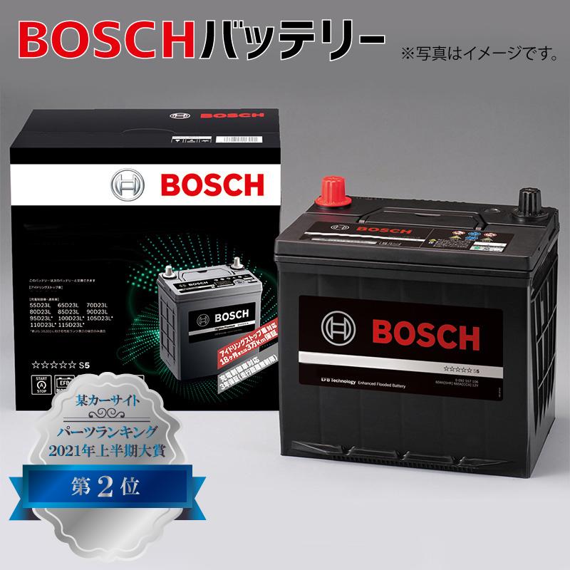 Q-85/115D23L アイドリングストップ車用 自動車用バッテリー ハイテックプレミアム HTP-Q-85 Q85高性能 充電制御 BOSCH ボッシュ Q-55