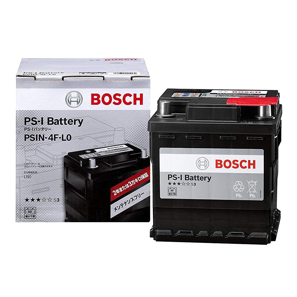 【¥500OFFクーポン発行中!】PS-I バッテリー PSIN-4F-L0 国産車 外車 欧州車 自動車用バッテリー 高性能 BOSCH ボッシュ LN0