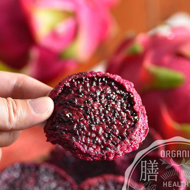 Native sugar no addition thick slice red dry dragon fruit 100 g dried fruit  Taiwan cake Taiwan souvenir of new arrival Taiwan