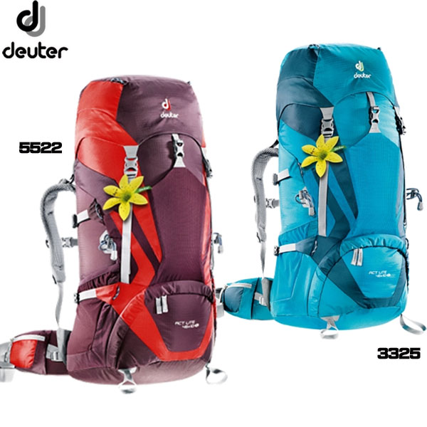 ザック バックパック 登山 登山用 ドイター DEUTER ACTライト 45+10 SLD3340215 (P10)