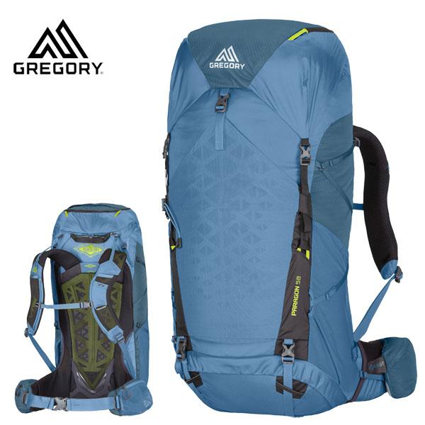 グレゴリー GREGORY ザック PARAGON 58 MD/LG OMEGA BLUE パラゴン58 オメガブルー(G20)GLKN