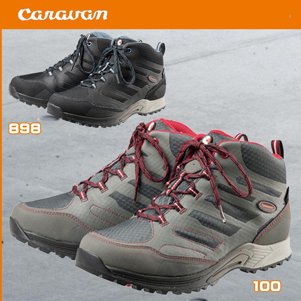 キャラバンシューズ C1_AC MID トレッキングシューズ 登山靴
