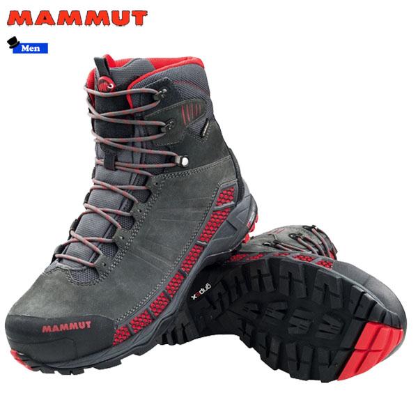 【期間限定購入特典あり】/登山靴 メンズ マムート MAMMUT コンフォート ガイドハイ GTX Comfort Guide High GTX SURROUND graphite-inferno ゴアテックス 防水 防水性 透湿性 (MMTBGN)【outlet-od】 あす楽