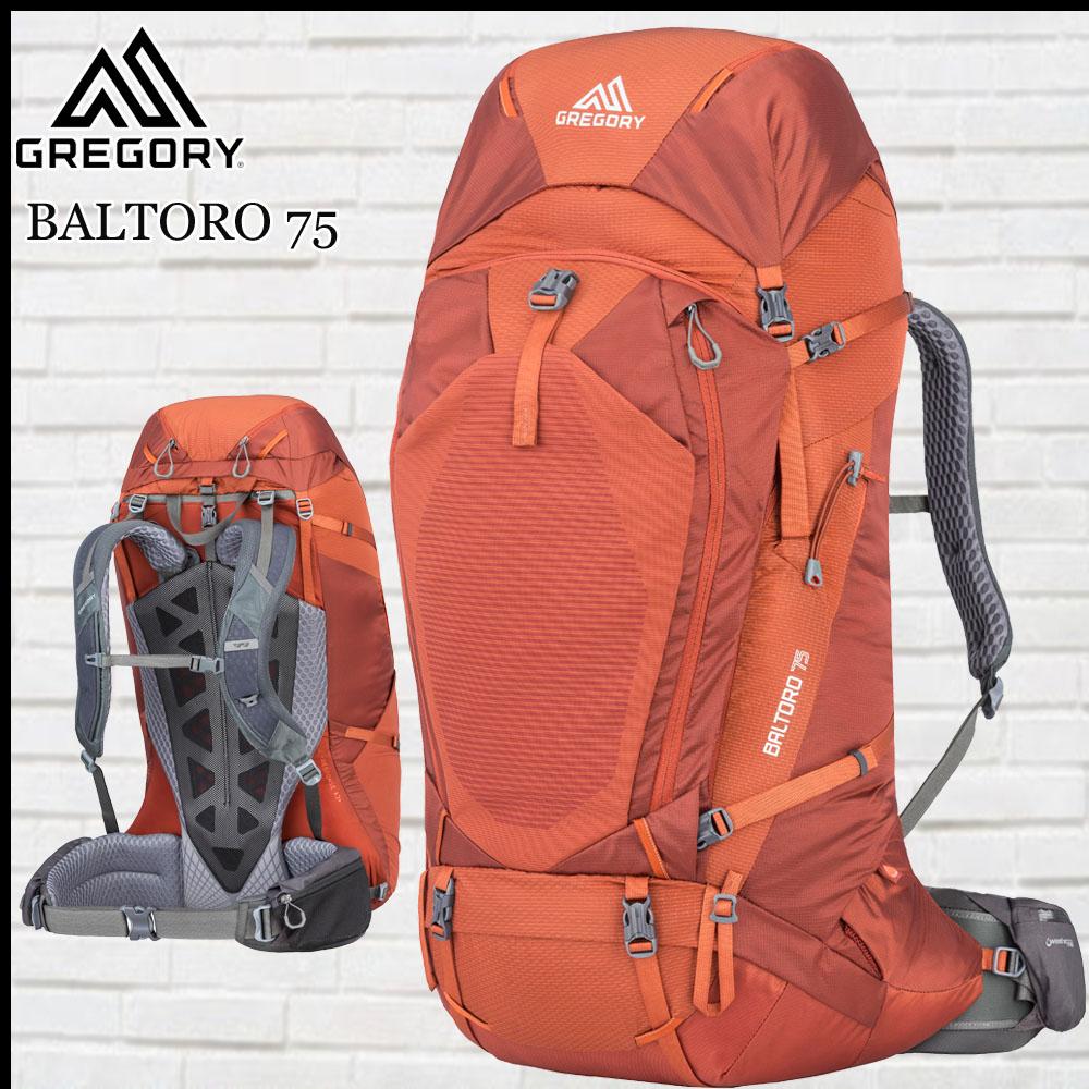 グレゴリー GREGORY バルトロ75 フェラスオレンジ BALTORO 75 Mサイズ FER.ORANGE