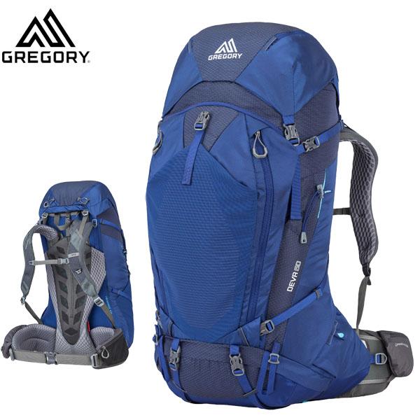 グレゴリー GREGORY ディバ60 ノクターンブルー DEVA 60 Sサイズ NOCT.BLUE (女性用)