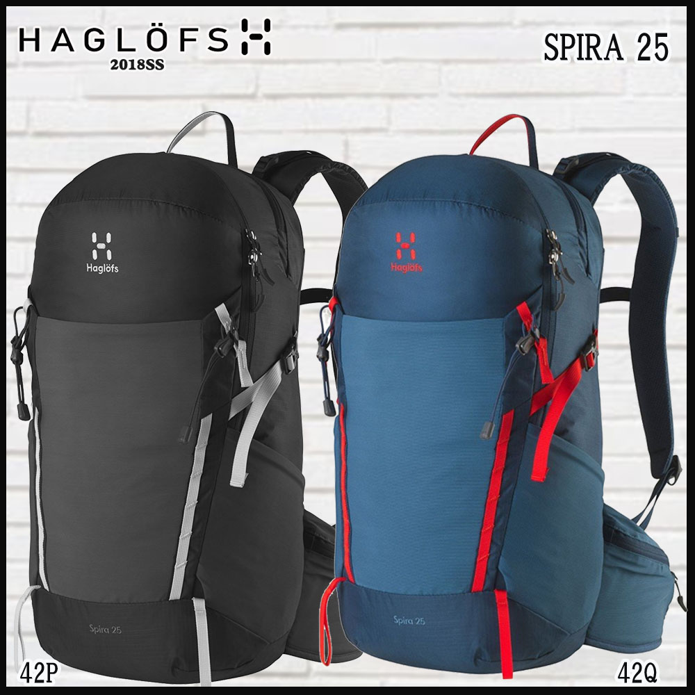 ホグロフス Haglofsデイパック SPIRA 25(男性向け) (HAGLOFS_2018SS)