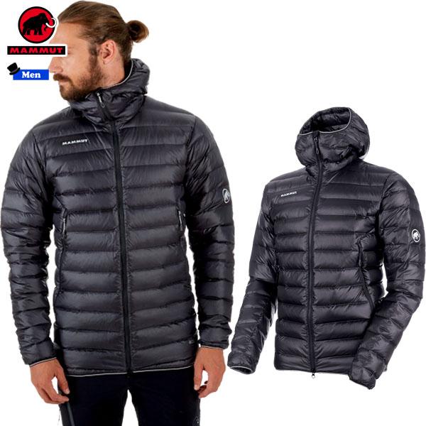 【期間限定購入特典あり】/マムート MAMMUT Broad Peak Pro IN Hooded Jacket Men カラー:00150 phantom(MAMMUT_2018FW2) 日本正規代理店商品 あす楽