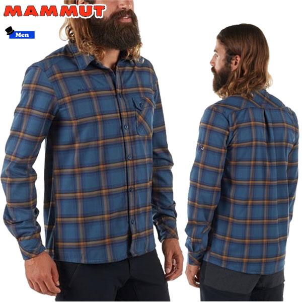 MAMMUT BellunoTour LS ST AF Menマムート ベルーノツアーロングスリーブシャツ アジアンフィットカラー:5965