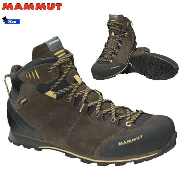 【期間限定購入特典あり】/登山靴 メンズ マムート MAMMUT ウォールガイドミッド Wall Guide Mid GTX ゴアテックス 防水 防水性 透湿性 (MMTBGN)【outlet-od】 あす楽