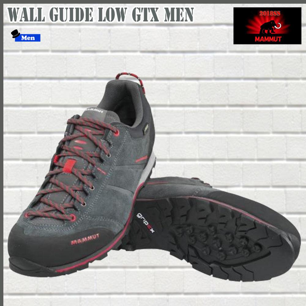 マムート MAMMUT ウォールガイドロウ Wall Guide Low GTX Men