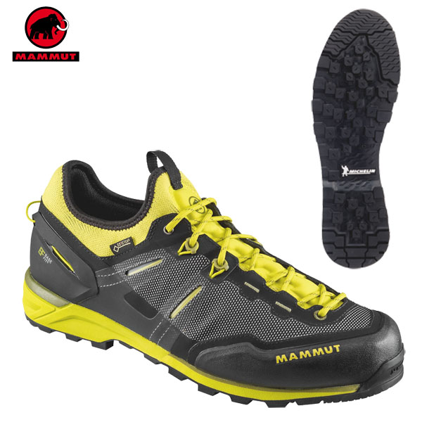 登山靴 メンズ マムート MAMMUT アルナスカ ニット ロー Alnasca Knit Low GTX カラー:00182ゴアテックス 防水 防水性 透湿性 あす楽