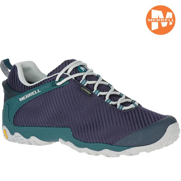 登山靴 メレル MERRELL カメレオン7 ストーム CHAMELEON7 STORM GORE-TEX カラー:NAVY/TEAL ゴアテックス 防水 防水性 透湿性 ローカット あす楽