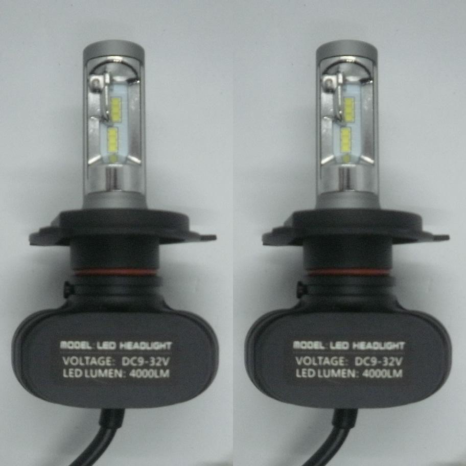 コントローラーを無くした省スペースLED MITSUBISHI パジェロ ミニ H6.12~H15.8 訳あり品送料無料 H5#A ファンレス コントローラー一体型 LEDヘッドライト 一年保証 Hi 4000LM 高輝度 H4 2灯 車検適合 期間限定の激安セール 6500K Lo