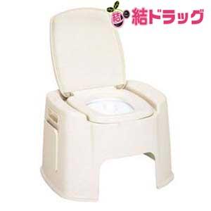 トンボ ポータブルトイレ デラックス型 ベージュ