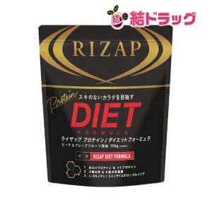 【送料無料】RIZAP ライザップ プロテイン ダイエットフォーミュラ ピーチ&グレープフルーツ 30食分 1袋(750g)【メール便 送料無料】