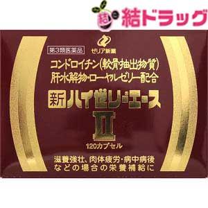 【第3類医薬品】【送料無料】新ハイゼリーエースII(120カプセル)