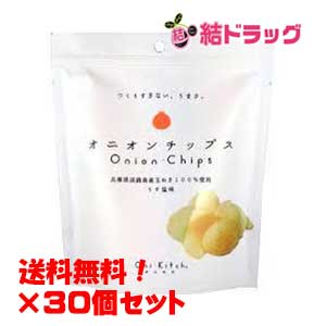 【送料無料】オニオンチップス(塩)15g×30個セット【送料無料】