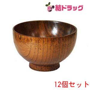 木製汁椀 高仙才 うるし塗り 12個セット
