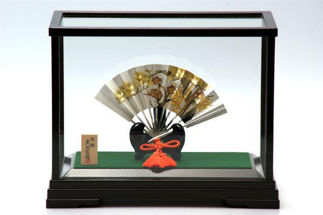 純銀製 置物 扇12号(松竹梅) 送料無料名入れ彫刻無料 伝統工芸士 武比古作の逸品です 結婚祝い 賀寿 長寿祝い 各種贈答用に最適ラッピング対応可・代筆無料 純銀銀製 銀製品 シルバー