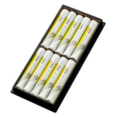 線香 お線香 九重香 短寸大把10把入 平箱塗箱 表書き毛筆代書無料 梅栄堂