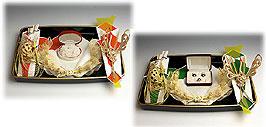 同時交換 -記念品メインの結納品-パール指輪セット2(手渡しタイプ)