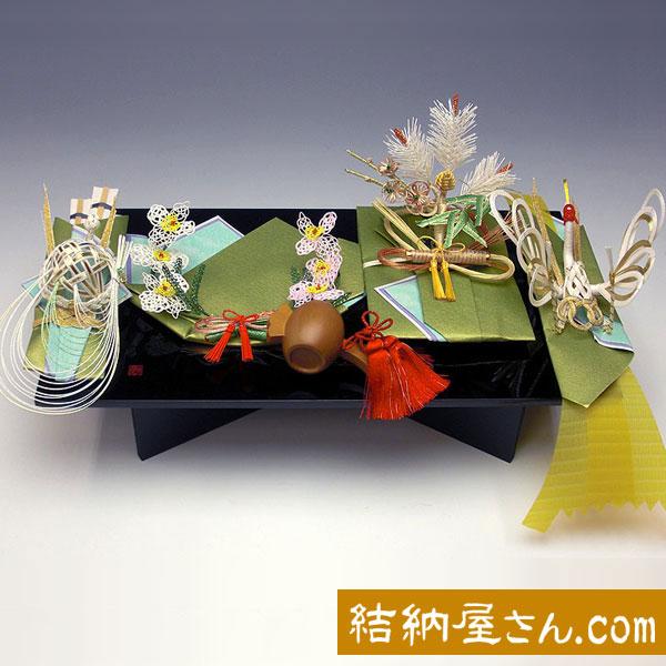 結納返し-略式結納品- 美雪5点セット(毛せん付)【記念品飾り・小槌付】