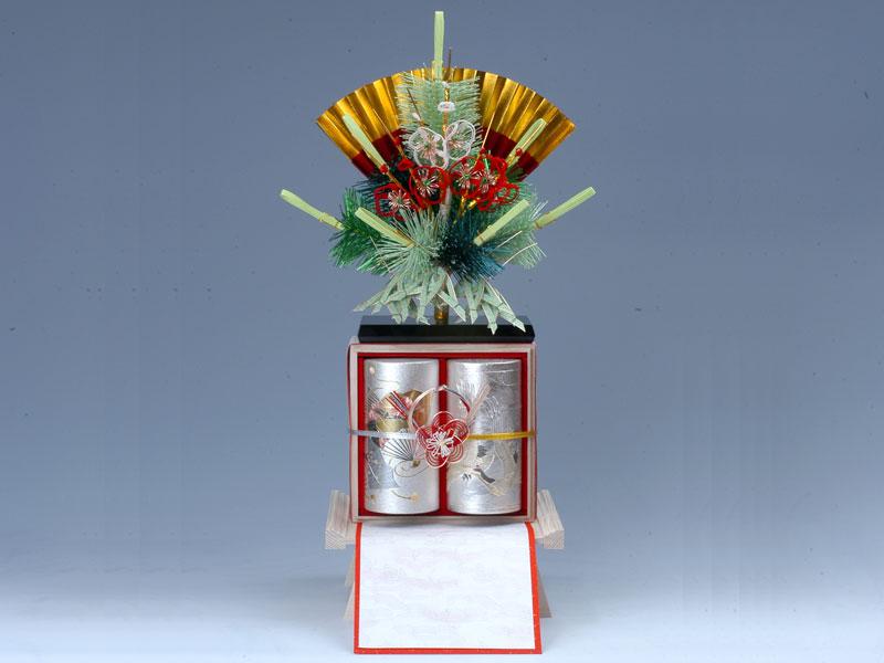 お茶(缶)白木台