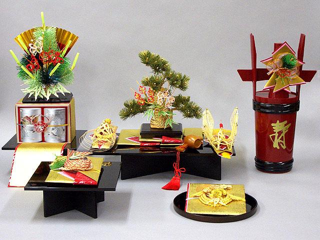 結納 -九州式結納品-松輝セット(毛せん付)