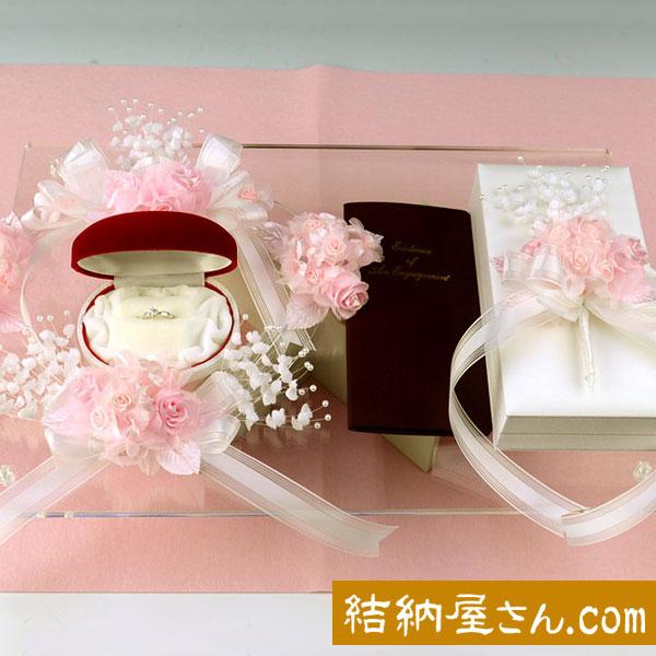 【結納フェア商品 ポイント2倍】結納-略式結納品- New Flora セット(毛せん付)
