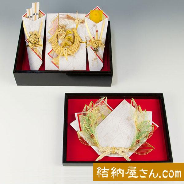 結納-略式結納品- おしどりアレンジセット1【指輪飾り付】
