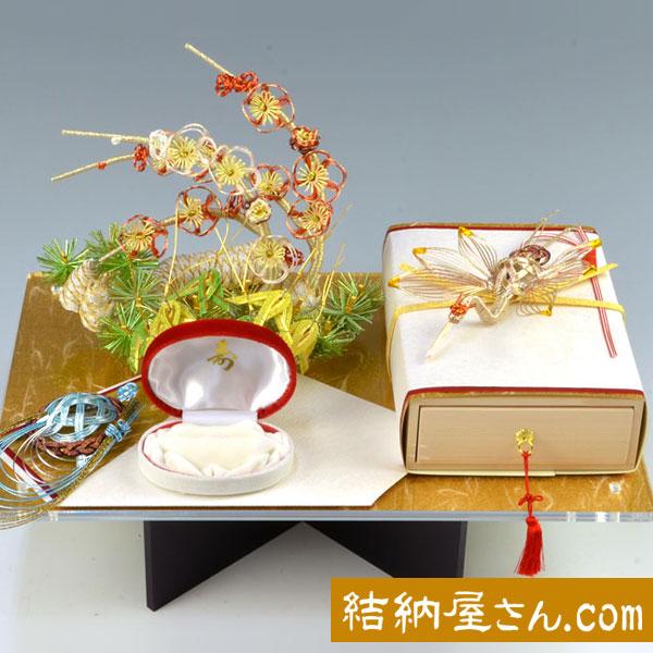 結納-略式結納品- 寿恵利SAGANOセット(毛せん付)