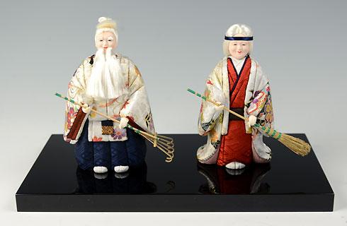 高砂人形-金襴友禅-