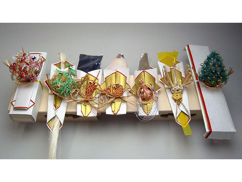 ★☆★結納金なしの結納★☆★-関東式結納品-橘(たちばな)7点セット(毛せん【ウール】付)