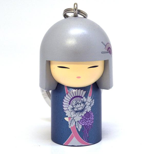 kimmidoll(キミドール)【キーホルダー】SUMI(スミ)(TGKK091)こけし人形/フィギュア/かわいい/おしゃれ/輸入雑貨/オーストラリア生まれ