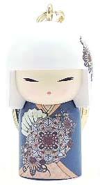 kimmidoll(キミドール)【キーホルダー】KIOKO(キオコ)(TGKK204)こけし人形/フィギュア/かわいい/おしゃれ/輸入雑貨/オーストラリア生まれ